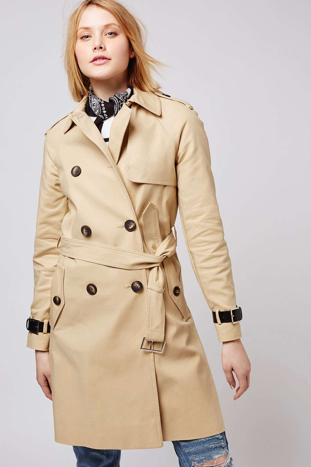 trench topshop
