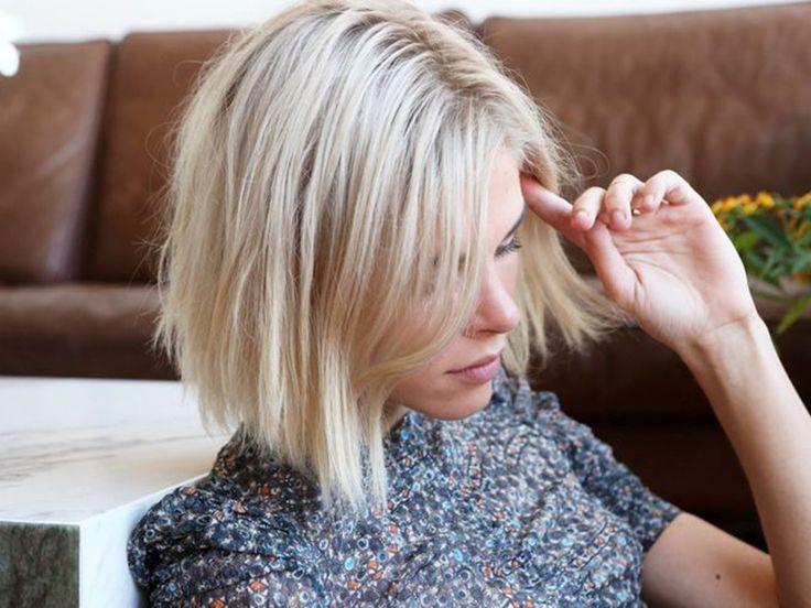 Six façons de se coiffer avec une coupe au carré