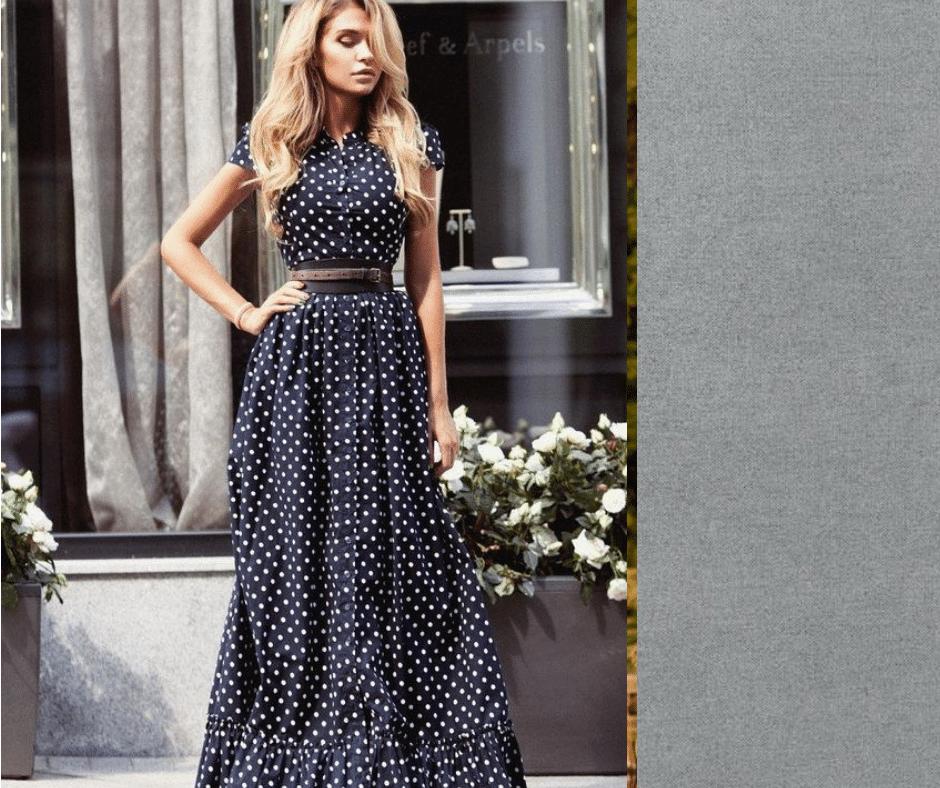 Bien porter une robe longue avec style pour créer de belles