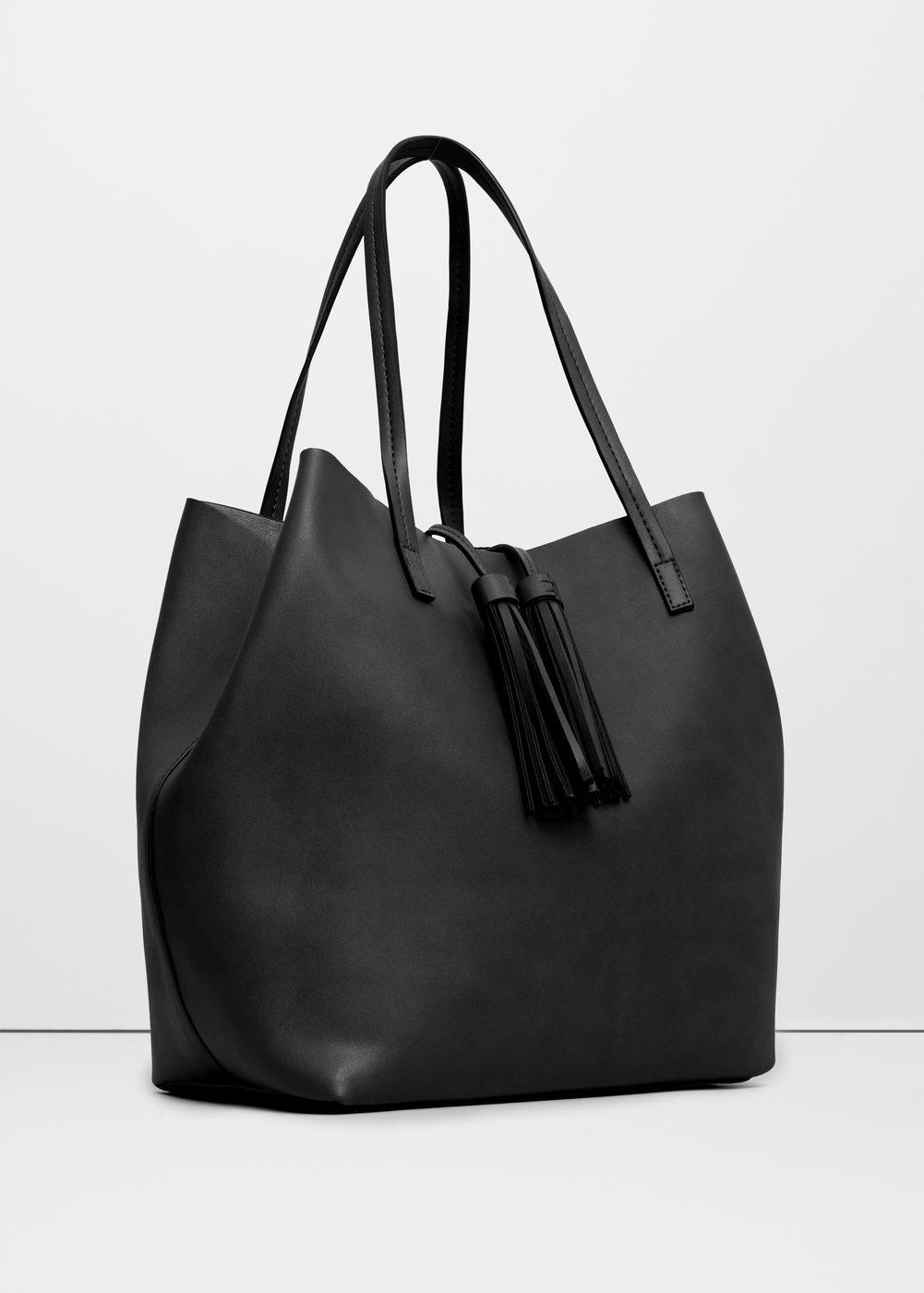 le sac shopper noir