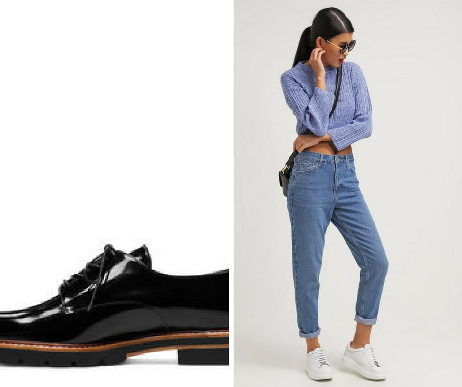 comment porter les chaussures d 39 hiver de la rentr e. Black Bedroom Furniture Sets. Home Design Ideas