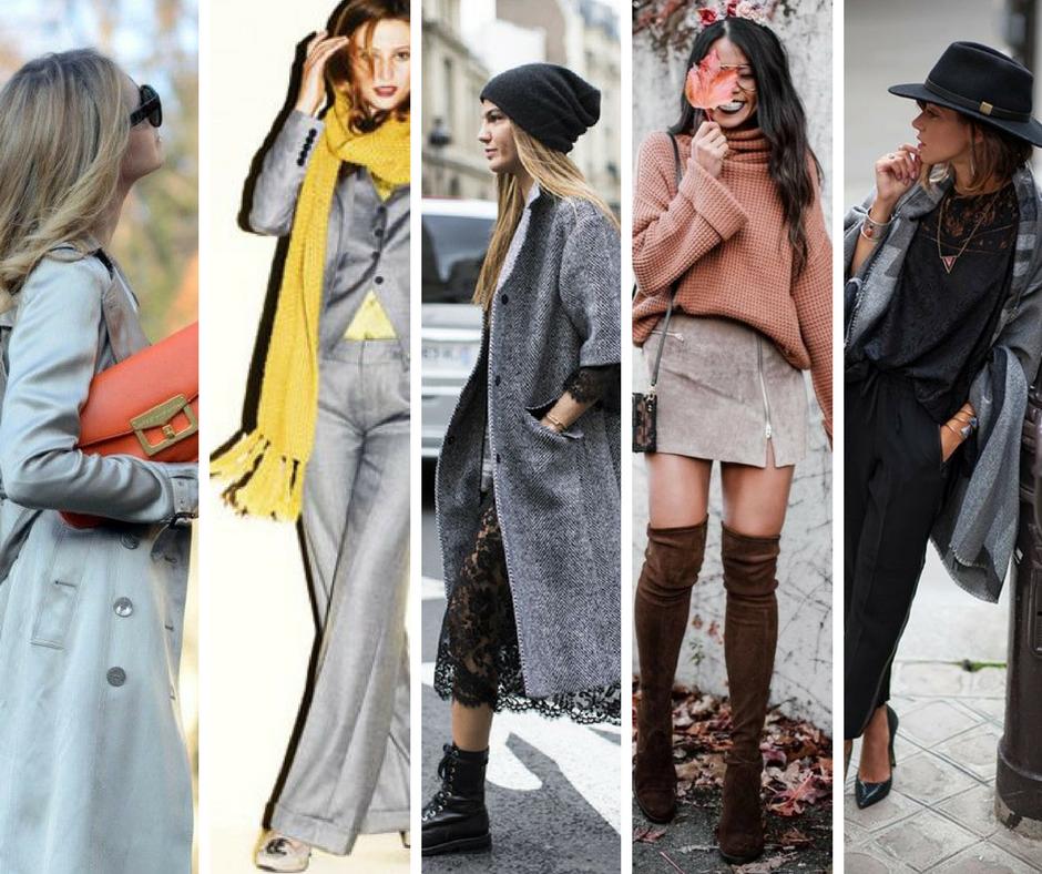 associer vos  vêtements gris