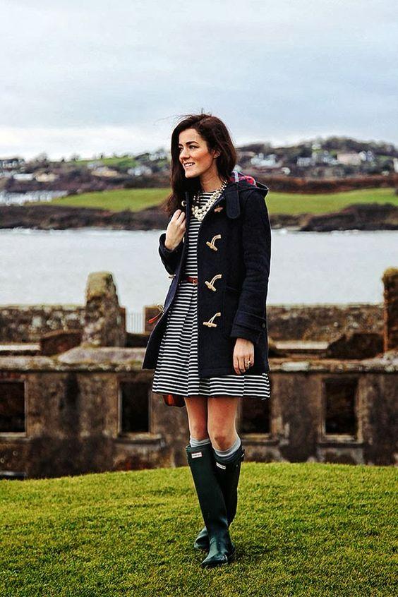 s'habiller avec style  quand il pleut